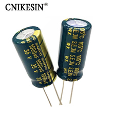 10pcs/lot 35V1000UF High Frequency Low Esr Long Life LCD Power Supply SANYO Electrolytic Capacitor 1000UF 35V 10X20mm Capacitor