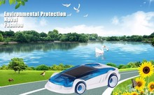 New Novelty Salt Water Hybrid Car Children Green Energy Educational Technology Toy Kids Creative Powered Car Gift(China)