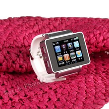 For Children's I3 Bluetooth Smart Watch Quad band Phone 1.8'' Touch Screen Support Webcam FM Radio MSN Skype GPRS internet Torch