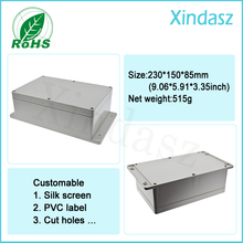 230*150*85mm wall mounted plastic waterproof enclosures plastic project box waterproof junction box