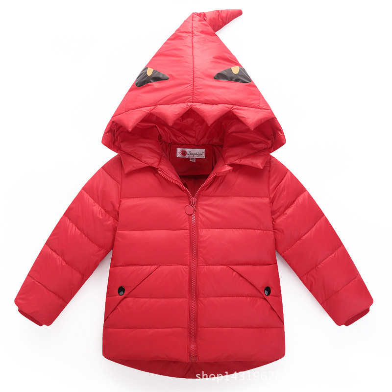 Warm Down Coat for boys and Girls Dinosaur Little Monster Hooded Winter Jackets Winter Coat Doudoune File Kids Outerwear dj039Одежда и ак�е��уары<br><br><br>Aliexpress