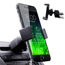 Universal Car Moble Phone Mount Holder CD Slot Air Vent 360 Car Phone Holder Stand Bracket 58-90mm Adjustable For Iphone 6 6s SE