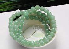 High Quality Wholesale Beautiful Green Necklace  Fashion Jewelry  Green Beads Necklace