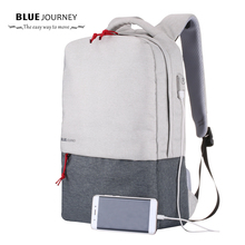 2017 New Canvas Bag Men's Backpack 15.6 Inch Laptop Notebook Mochila for feminina Waterproof luggage Back Pack school mochilas(China)