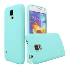 For Samsung Galaxy S5 Cover Solid Candy Color TPU Skin Rubber Case Cover for Samsung S5 I9600 Silicon Case Glossy Back Cover