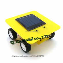 NIDALE model Free shipping DIY Assemble puzzle model kit solar car model Children enlightenment toys