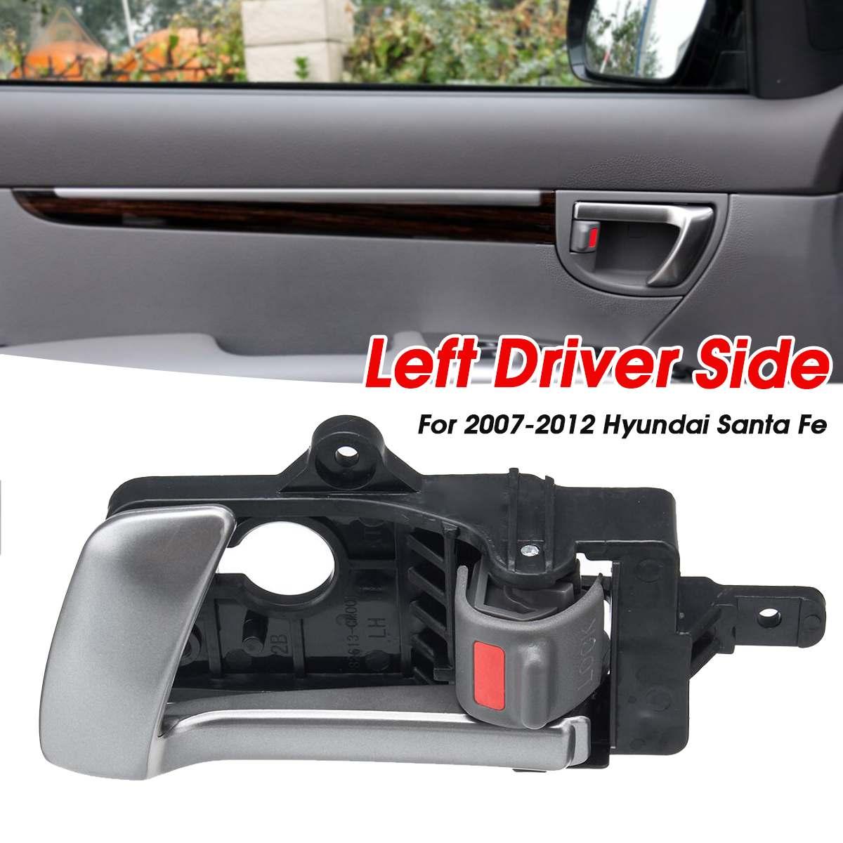 Door Handle Left Front Without Lock Plastic Fits PEUGEOT CITROEN 307 2000-2011