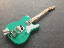 Free shipping cost customized TL Special  electric guitar with Bigby bridge  no  logo