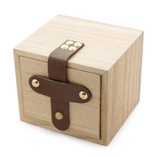 Full Wooden Watch Box Brand Designer Wood Square boxex Accepct Customise Logo for Men or Women without Watch