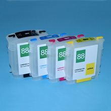 88xl for hp 88 Refill ink cartridges For HP Officejet Pro K550 K550dtn k550dtwn k8600 k8600dn printers 5sets a lot(China)