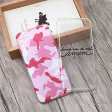 For iPhone 6 6s 6Plus 6sPlus Case Army Camo Camouflage Pattern Soft Slicone TPU Armor Protective Back Skin Cover Cell Phone Case