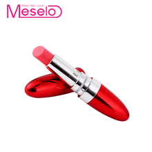 Buy Meselo Woman Mini Lipstick Vibrator Strong Vibrating Bullet Clitoris Vagina Anal Stimulator Adult Product Sex Toys Women