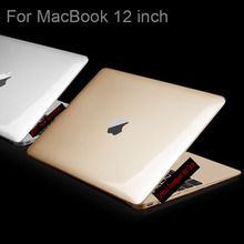 ULTRA THIN Crystal Transpaent  / Matte Case For Apple macbook 12 inch laptop bag For Mac book 12inch Retina DISPLAY A1534