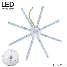 12W 24W Celling Lamps LED Module AC220V SMD 5730 2835 LED board Octopus Lights Tube Replace Celling Panel Light Lighting Source