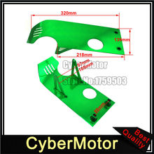 Green Engine Base Skid Plate For Dirt Pit Bike Lifan YX 50cc 70cc 90cc 110cc 125cc 140cc Stomp Taotao BSE IMR Atomik