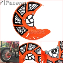 Orange Motorcycle Front Brake Disc Rotor Guard Protector Plate for KTM EXC SX XC 125 530 SMR 450 525 2003-2015(China)