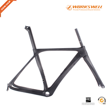 700c road bike carbon frame bicycle frame monocoque ud oem factory price bike frame with light weight(China)