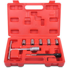 Wintools 7pc Diesel Injector Seat Cutter Set Cleaner Carbon Cutting Tool WT04A3014