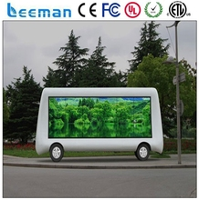 Leemanled P3 P10 mobile Vehicle/truck/trailer/car moving advertising led display for sale smd p5 p6