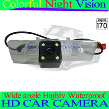 Free shipping HD CCD with 4 LEDs Car Rear View Reverse back up Camera for Subaru Legacy