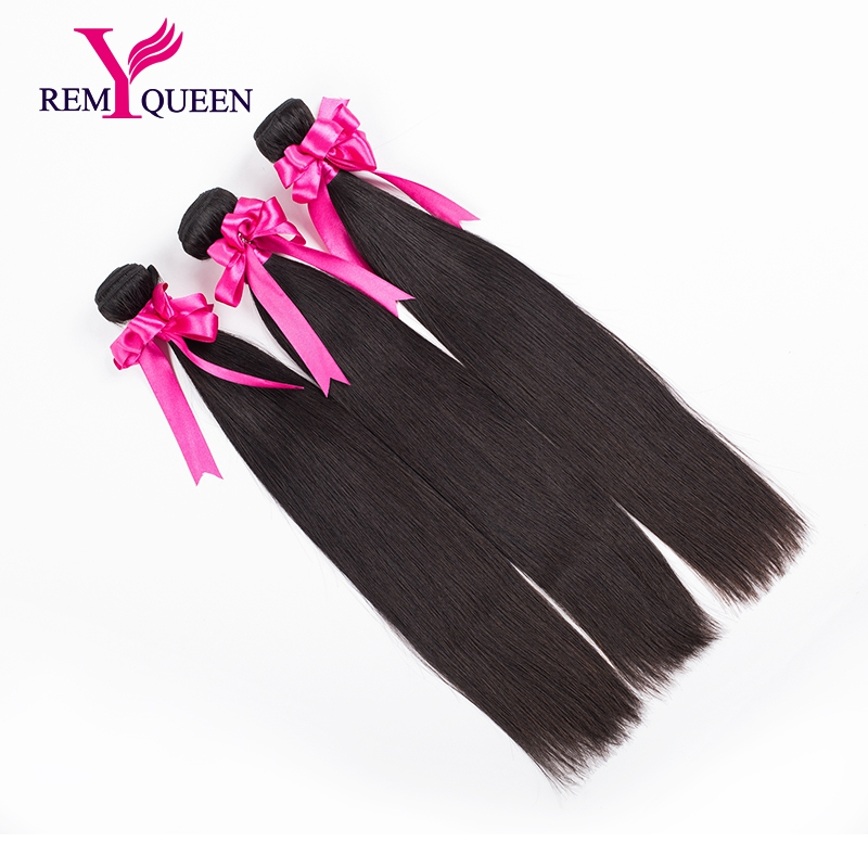 3 Bundles 10A Natural Black Color Indian Virgin Hair Straight Free Shipping UPS Indian Hair Weave Bundles Unprocessed Human Hair<br><br>Aliexpress