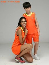 kids Basketball sets boys Training vest youth plain Game Uniforms children Customizable Design Group Clohing kid basketball kits