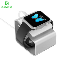 FLOVEME Luxury Simple Aluminum Charging Dock Stand Phone Holder for iWatch Bracket for Apple Watch Charging Holder Stand
