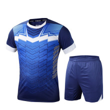 2017 Men Football Kits Soccer Sets Jerseys Sports Uniforms Futbol Shirts Jersey Training Pants Suit Breathable Short Sleeved DIY