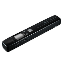 High Speed Portable A4 document Scanner 1050 dpi color Mini handheld scanner JPG and PDF Support 32G TF Card  Free shipping