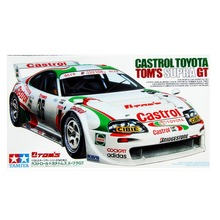 OHS Tamiya 24163 1/24 Castrol Tom's Supra GT Scale Assembly Car Model Building Kits