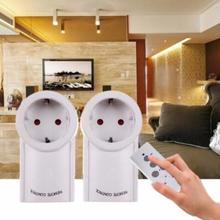 Remote Control Energy Saving Long Distance Power Outlet Switch Socket EU Plug