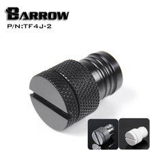 "Barrow White Black SilverG1 / 4 ""for 1/2 (ID12.7mm) pipe waterstop connector computer water cooling accessories TF4J-2"