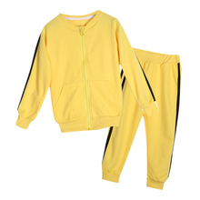 Baby Girls Suits Sports Children's Clothing Sets Baby Boys Spring Suit Set Baby Girl Long Sleeve Sets(China)