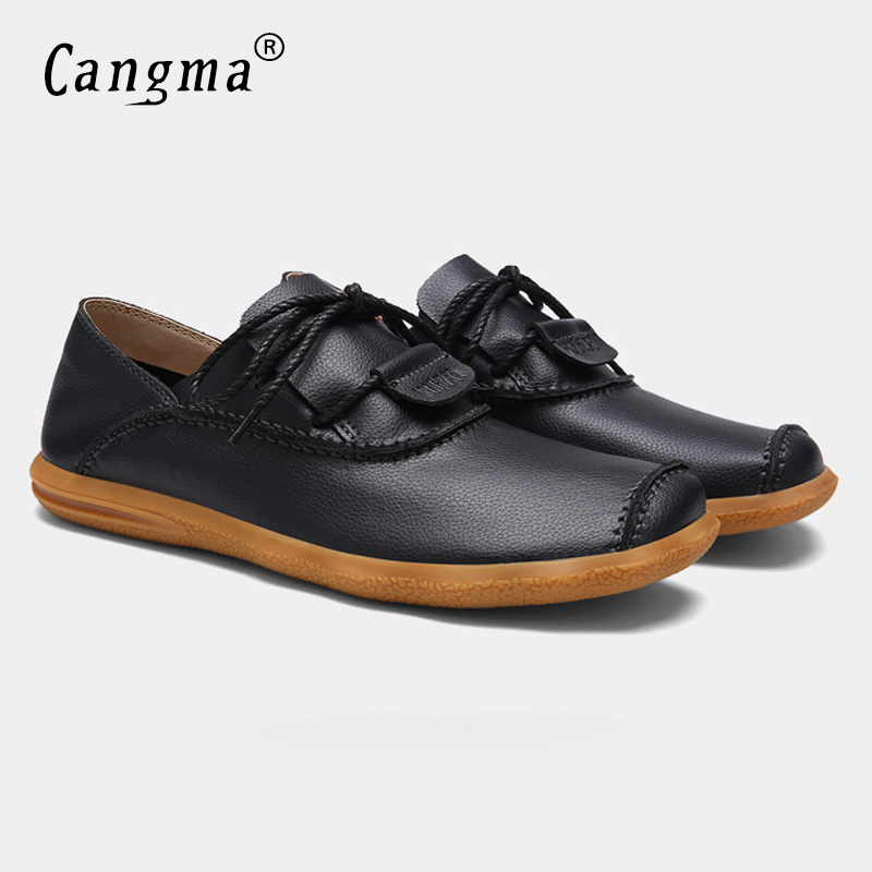CANGMA Large Sizes Mens Shoes Italian Business Shoes Men Flats Casual Driving Moccasins Shoes Elegant Sapato Italiano Masculino<br>