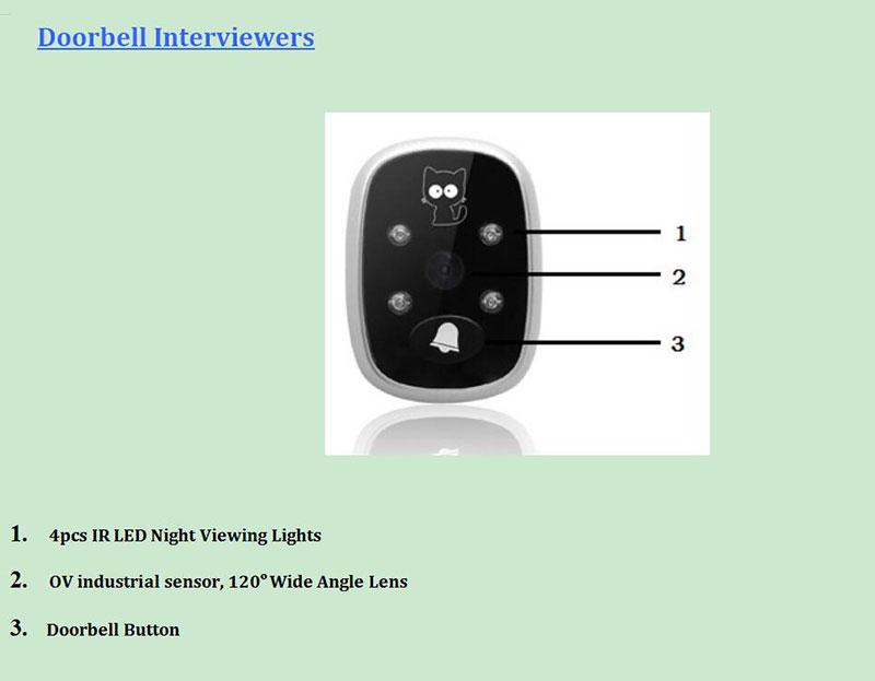 """HTB1EdRGPFXXXXcSXpXXq6xXFXXXR - New 3.5"""" LCD Color Screen Electronic Door Bell Viewer IR Night Door Peephole Camera Photo/Video Recording Digital Door Camera"""