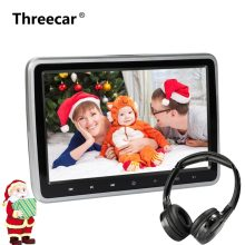 10 Inch HDMI DVD Monitors 1024x600 HD Digital LCD Screen Car Headrest Monitor car audio Player FM Car Headrest DVD Player(China)