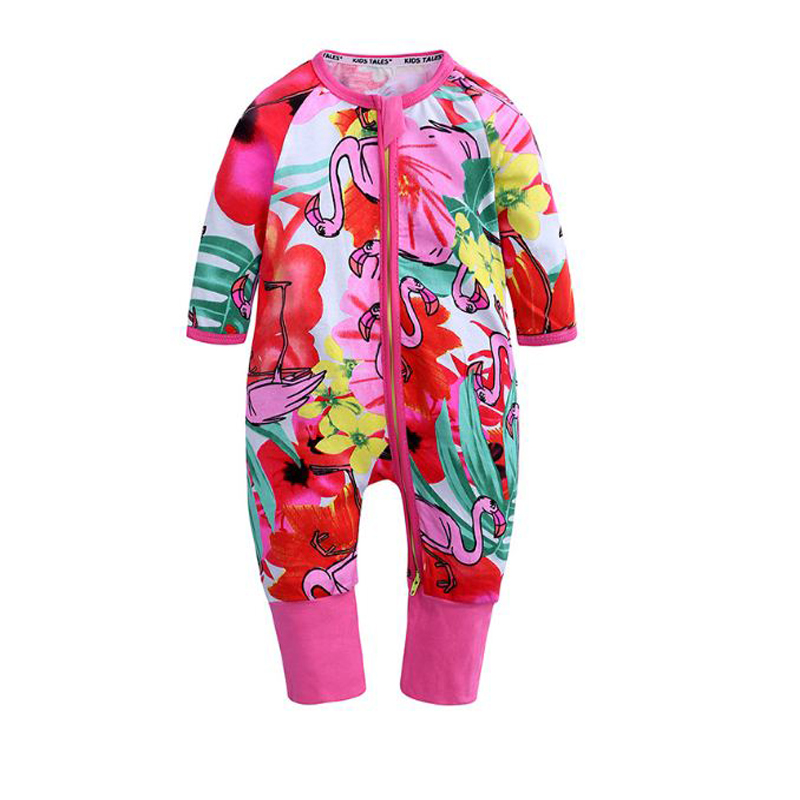 long sleeve Floral Print rompers for baby girl boy clothes cotton new born costume 2019 jumpsuit unisex newborn toddler romper