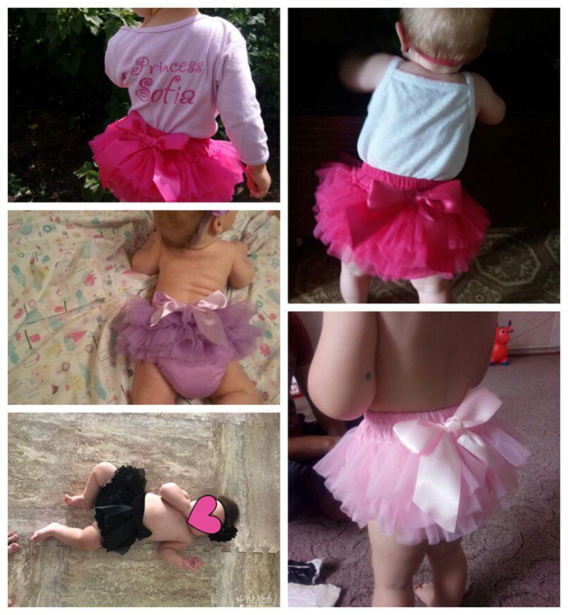 Baby Cotton Chiffon Ruffle Bloomers cute Baby Diaper Cover Newborn Flower Shorts Toddler fashion Summer Clothing 3