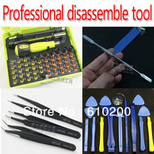 Professional disassemble Opening tools for repair the shell tools screwdriver tool set kit removable notebook flat PC phone LCD