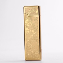 Creative Design Electric Lighters Usb Charging Plasma Arc Lighter Windproof For Smoke Cigarettes Cigar With Gift Box