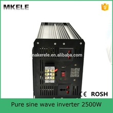 MKP2500-242B professional manufacturer 24v dc 230v ac pure sine wave power inverter off grid solar inverter for led light