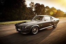 1967 mustang shelby gt500 eleanor Super DIY frame car posters and print silk fabric 12x18 20x30 24x36 27x40 print Wall Decor(China)