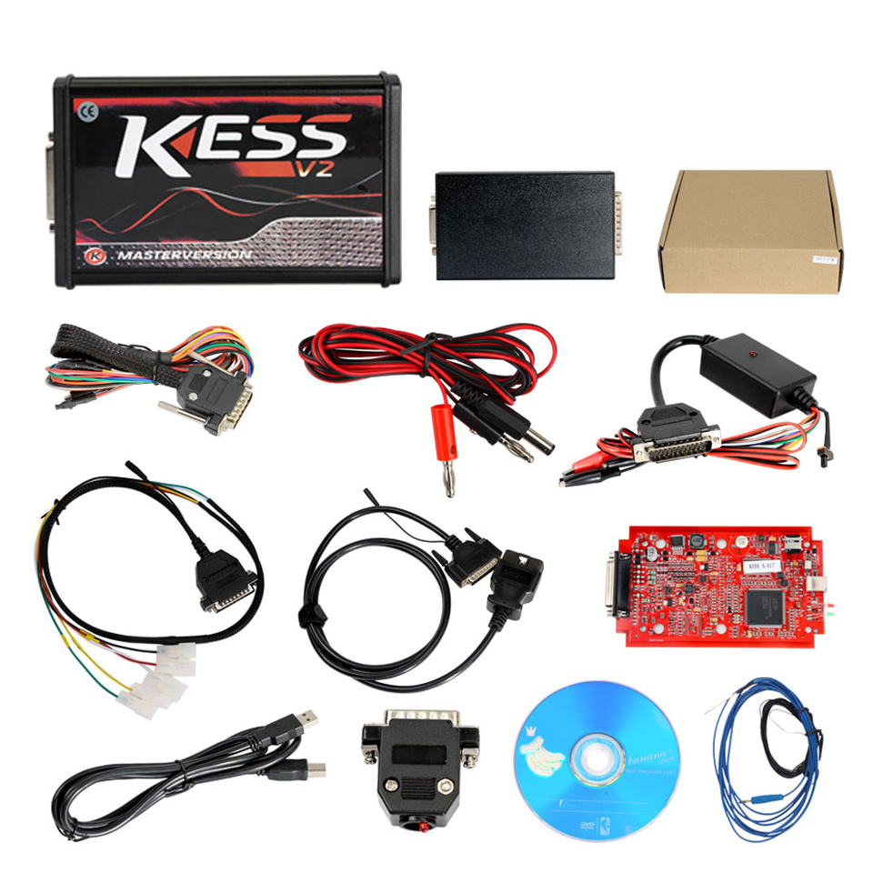 Kess V5.017 with Red PCB Online Version Support 140 Protocol No Token Limited (5)