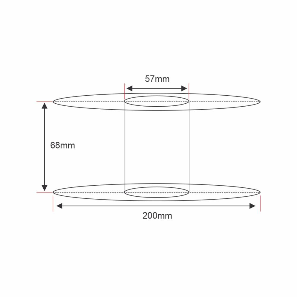 PLA Spool Size mm