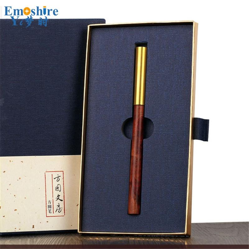 High-end Custom Signature Pen Roller Ball Pen Creative Brass Ballpoint Pen Office Stationery for Writing Supplies P359<br>
