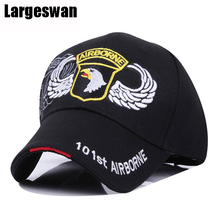 Largeswan Brand Cotton Adult Casual Air Force Baseball Cap Men Hat Outdoors Sport Hat Tactical Summer Buy 2 Get 1(China)
