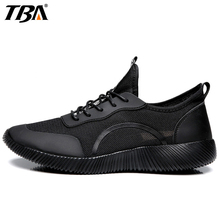 TBA Breathable Mesh Running Shoes For Men Lifestyle Outdoor Men's Sneakers 2017 New Summer Massage Sport Shoes Man Brand(China)