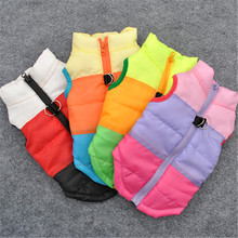 Warm Dog Clothes Pet Coat Clothing Harness Puppy Costume Apparel Dog Shirt Sweater Pet Clothes Outfit For Dog Chihuahua 15S1Q