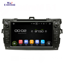 "7"" 1024*600 Quad code 16G Android  5.1.1 Auto GPS navigation for TOYOTA COROLLA 2012 DVD Player with 3G wifi freeshipping"