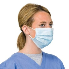 20 DISPOSABLE SURGICAL FACE SALON DUST CLEANING Ear Loop Flu Medical MASK CE Mark